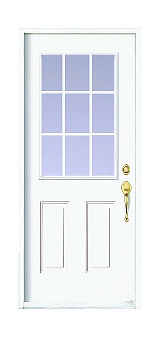 Computer image of a 6E189 Door