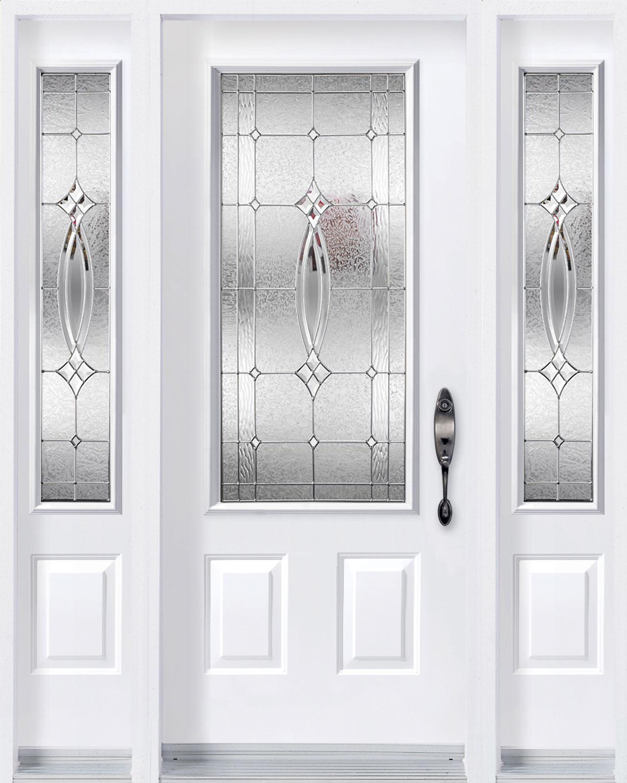 Evangeline Door With Sidelites