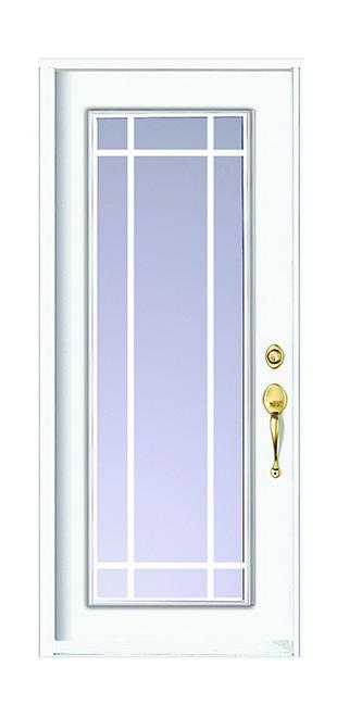 Computer image of a F138 prarie door
