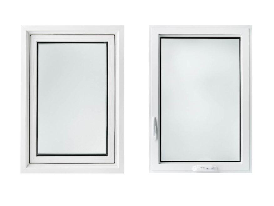 A 2020 Kohltech Supreme Casement window, white
