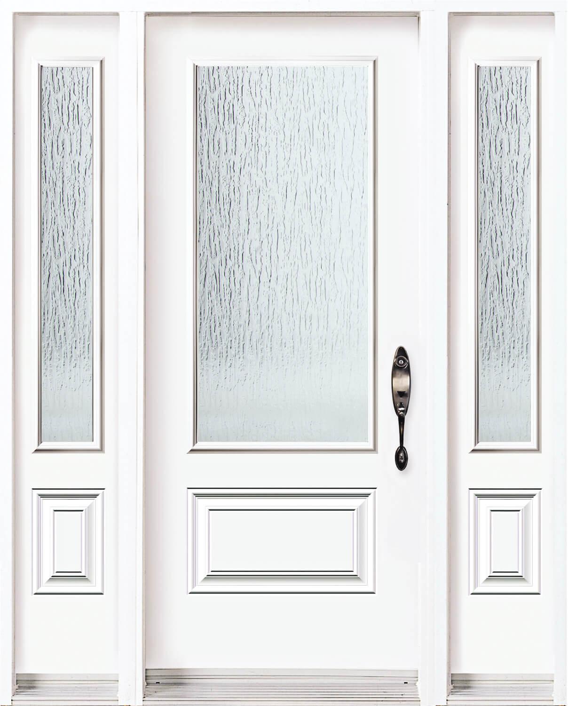 Rain Door with Sidelites