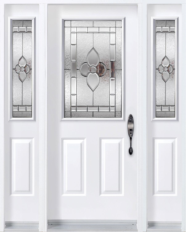 Allure door with sidelites