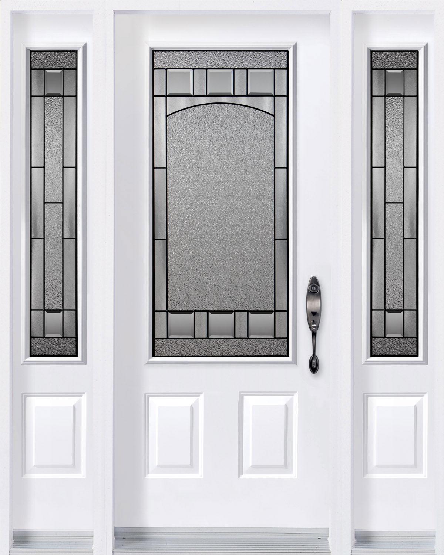 Bistro Door with sidelites