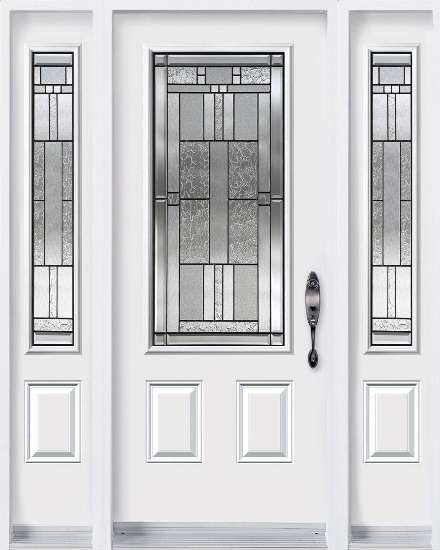 Cachet Door with Sidelites