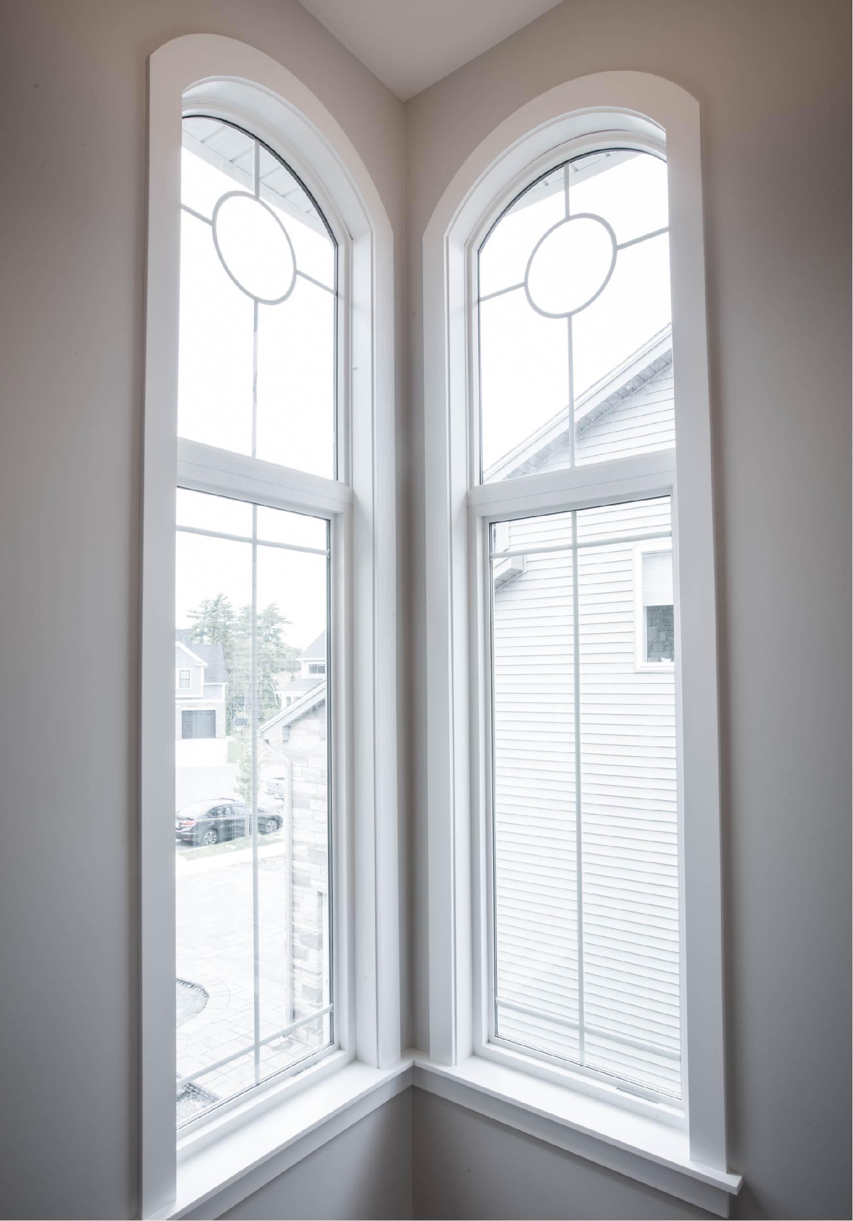 Custom window shapes, fixed window