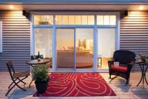 12 foot Select Patio Door with Mini Blinds