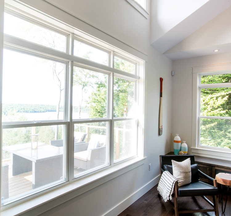 Four Kohltech Double Hung Windows with transom
