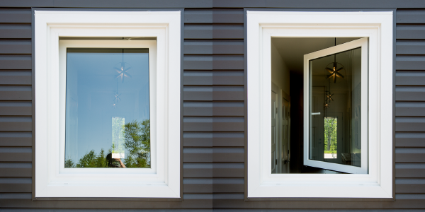 Tilt & Turn Windows in 2 orientations