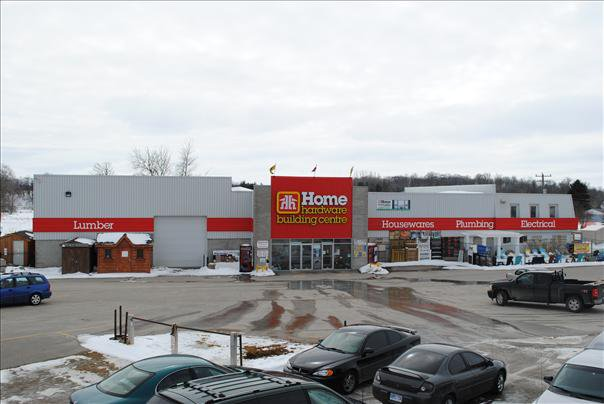 Street shot of the exterior of Wellesley Home Centre