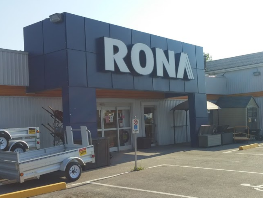 Rona St Catharines building exterior picutre