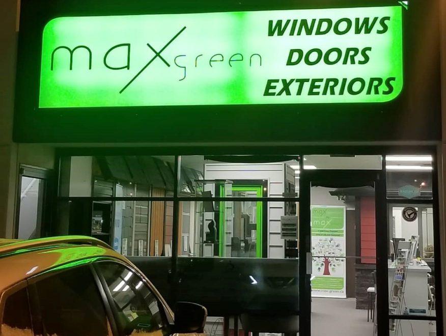 MAXgreen building exterior
