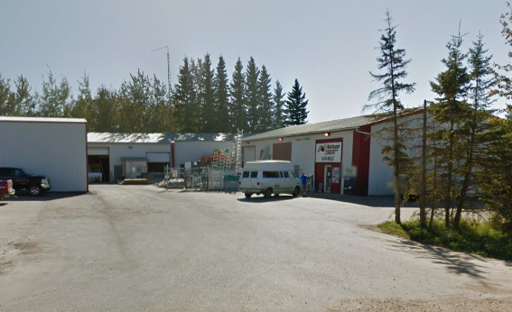 Nelson Lumber Slave Lake AB Store Front