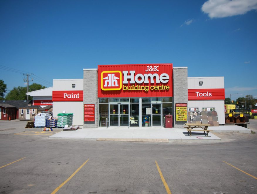 J & K Home Hardware Store Front