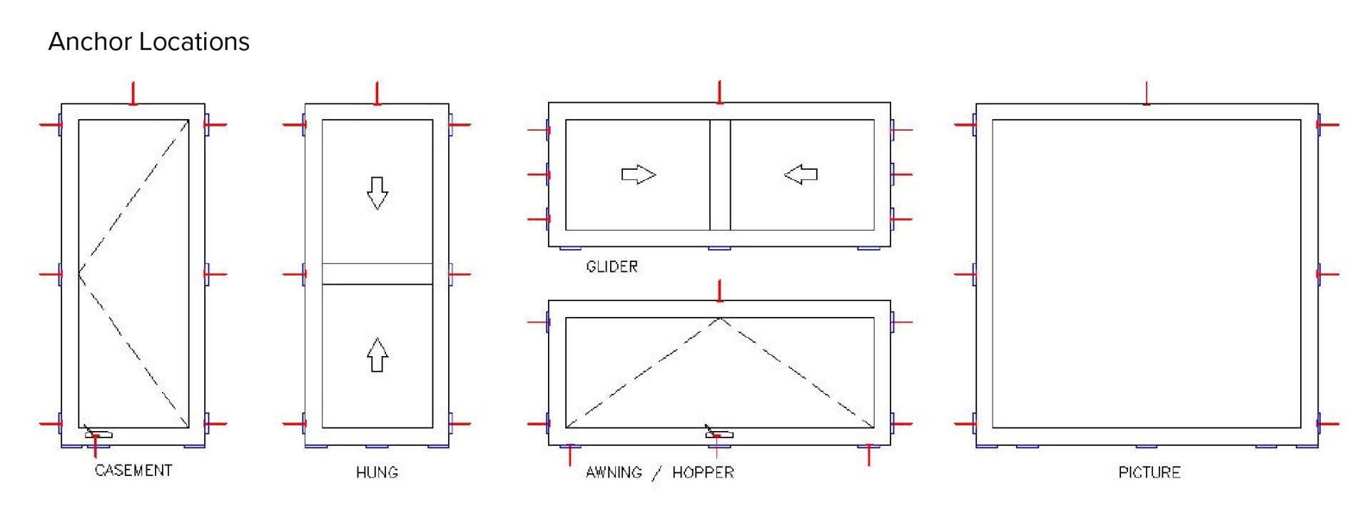 Window Installation Anchor Points-01